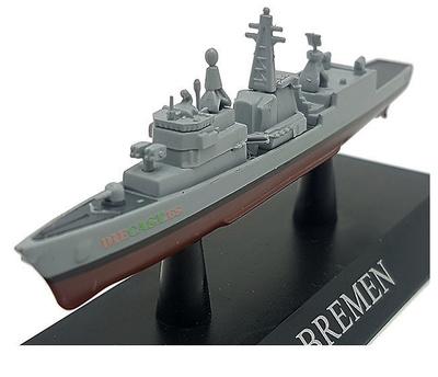 Fragata Clase Bremen, Armada Alemana, 1982, 1:1250, DeAgostini