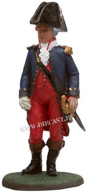 French Naval Officer, 1790, 1:30, Del Prado
