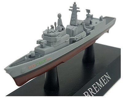 Frigate Class Bremen, German Navy, 1982, 1: 1250, DeAgostini
