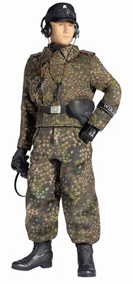 """Fritz Weber"", Wiking Panzer Officer, 5.Panzer-Division ""Wiking"", Kovel, 1944, 1:6, Dragon Figures"