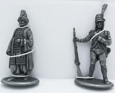 Fusilero de Infantería de Línea, Jenízaro, 1:24, Atlas Editions