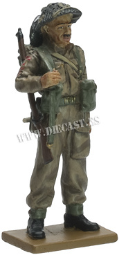Fusilier, 6th Bn., Royal Welch Fusiliers, Normandy, 1944, 1:30, Del Prado