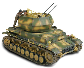 GERMAN FLAKPANZER IV WIRBELWIND, Polonia 1944, 1:32, Forces of Valor