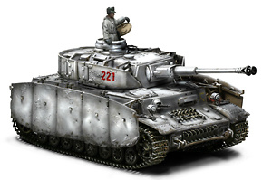 GERMAN PANZER  IV Ausf. G, KOWEL 1944, 1:32, Forces of Valor