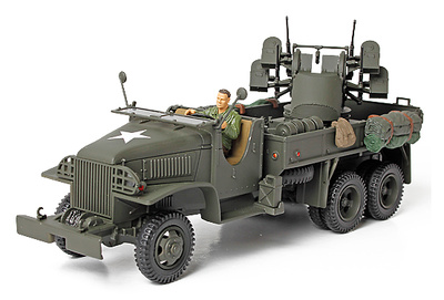 GMC 2½ Ton Cargo, con ametralladora de 4x0.5, 1:32, Forces of Valor