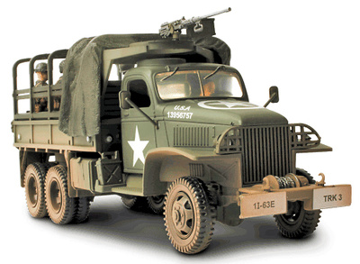 GMC 2½ Ton Cargo Truck, Normandy, 1944, 1:32, Forces of Valor