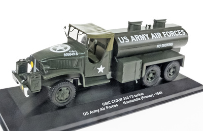 GMC CCKW 353 F3 cisterna, US Army Air Forces, Normandía, 1944, 1:43, Atlas