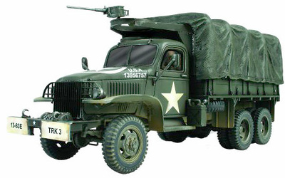 GMC M35 2.5-ton Cargo Truck, US Army, Normandy 1944, 1:72, Forces of Valor