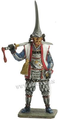 Gamou Ujisato, 1556-1595, Samurai, 1:30, Del Prado