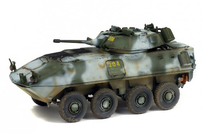Gdls LAV-25, 2nd Light Armored Reconnaissance Battalion, USA 2005, 1:72, Solido