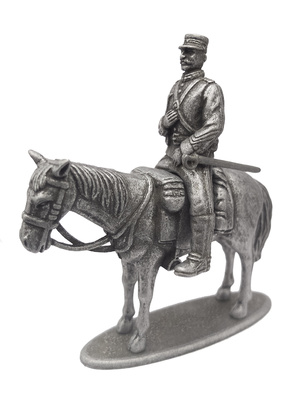 Gendarme on horseback, 1:24, France, First World War, Atlas Editions
