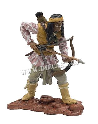 Gerónimo, Jefe tribu Apache, 1829-1909, 1:30, Hobby & Work