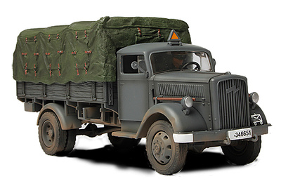 German 3 Ton cargo truck, Eastern Front, 1941, 1:32, Forces of Valor