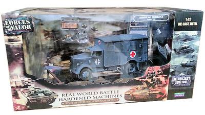 German 4x4 Ambulance - France, 1940, 1:32, Forces of Valor