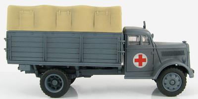German Ambulance Truck, 30th Infanterie Divison