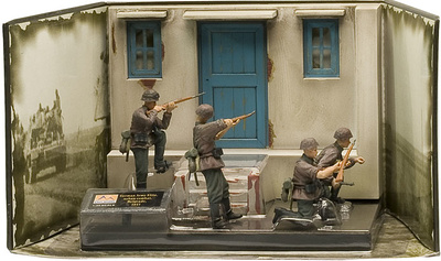 German Army Elite, urban combat, Belgrado, 1941, 1:35, Easy Model