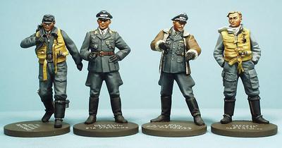 German Aviation Luftwaffe Aces (N.3), 1:35, Oryon