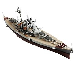 German Battleship Bismarck, Poland, 1941, 1:1000, Forces of Valor