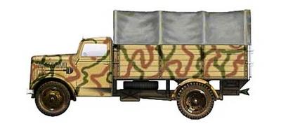 German Cargo Truck,  Normandia 1944, 1:72, Hobby Master