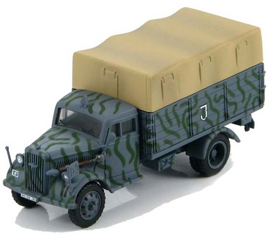 German Cargo Truck 19th Panzer Division, Kursk, Russia 1943, 1:72, Hobby Master