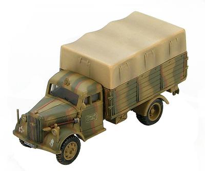 German Cargo Truck 8th Gebirgsjager Division, Bolonia, Primavera, 1945, 1:72, Hobby Master