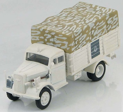"German Cargo Truck SS-Panzer Grenadiere Division ""LAH"", Kharkov, March 1943, 1:72, Hobby Master"