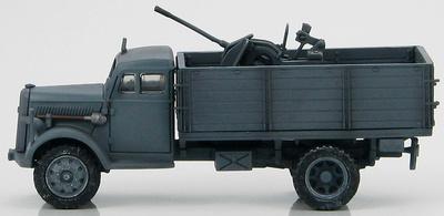 German Cargo Truck w/20mm Flak, Russia 1941, 1:72, Hobby Master