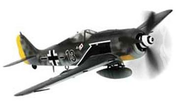 German FW 190A-8, Josef Priller, D-Day, France, 1:72, Forces of Valor
