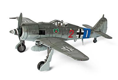 German FW 190A8 JG 54, France, 1944, 1:72, Forces of Valor