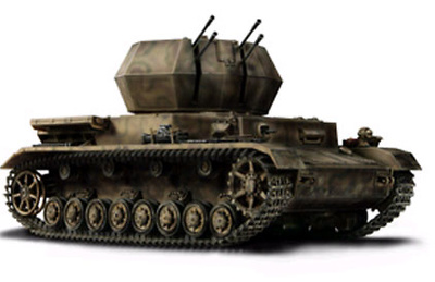 German Flakpanzer  IV  Wirbelwind, 1:32, Forces of Valor