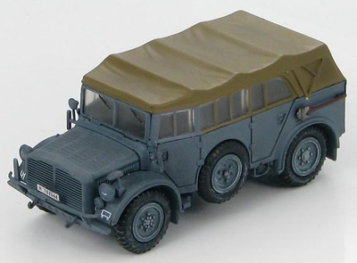 German Horch 1a European Theatre, WWII, 1:72, Hobby Master