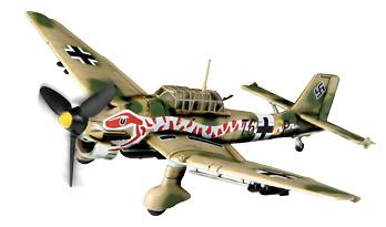 German Ju 87R-2 St. G 2,  North Africa, 1:72, Forces of Valor
