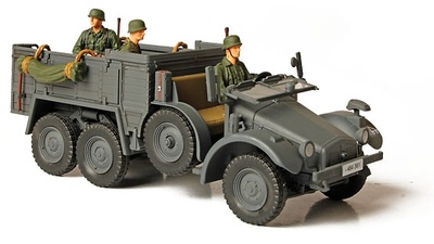 German KFZ. 70 personnel carrier, Frente del Este, 1941, 1:32, Forces of Valor