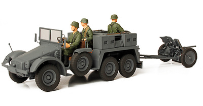 German Kfz. 69 Towed Pak 36, Países Bálticos, 1941, 1:32, Forces of Valor