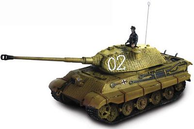 German King Tiger Tank, France 1944, 1:72, Forces of Valor