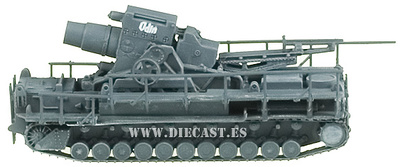 German Mörser Karl-Gërat 040, 1:144, Easy Model