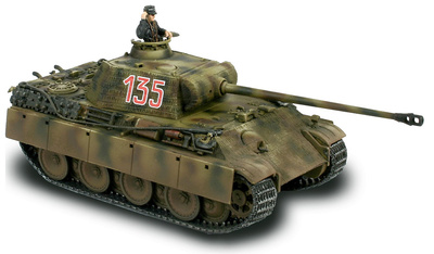 German Panther Ausf. G, Normandy 1944, 1:72, Forces of Valor
