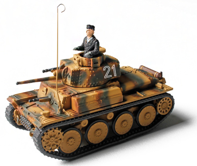 German Panzer 38(t) Sd.Kfz 140,  Ucrania, 1944, 1:72, Forces of Valor