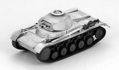 German Panzer II Ausf. C Pz. Rgt. 31, 5 Pz. Div., Eastern Front 1941, 1:72, Hobby Master