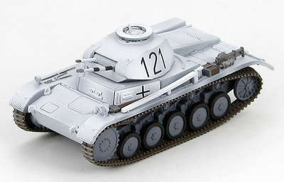 German Panzer II Ausf. C Unknown Unit, Caucasus 1941 (winter scheme), 1:72, Hobby Master
