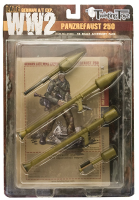 German Panzerfaust 250, 1:6, Twisting Toyz