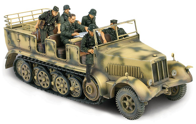 German SD.Kfz. 7 Half-Track, Normandy, 1:32, Forces of Valor