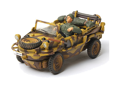 German Schwimmwagen, type 166, Normandy 1944, 1:32, Forces of Valor