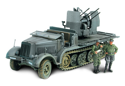 German Sd. Kfz 7/1 Flakvierling 38, 1:32, Forces of Valor