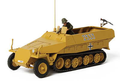 German Sd. Kfz. 251/1 Hanomag, Eastern Front, Poland, 1944, 1:72, Forces of Valor