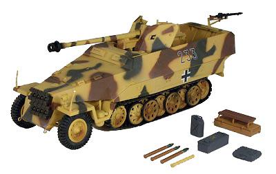 German Sd.Kfz. 251/22 Hanomag, 1:18, 21st Century Toys