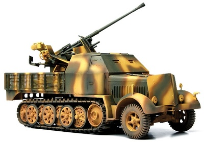 German Sd.Kfz. 7/2 con antiaéreo, Frente del Este, 1943, 1:72, Forces of Valor