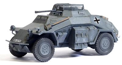 German Sd.Kfz.222 Leichte Panzerspahwagen, 1:72, Dragon Armor