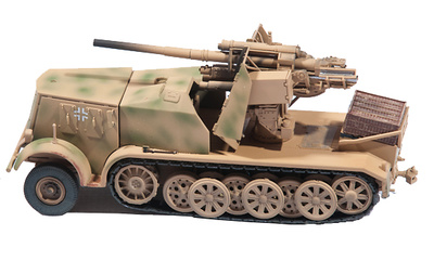 German Sd.kfz.8 DB9, Flak 18, 88 m.m., 1:72, PMA