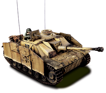 German Sturmgescutz III Ausf G, 1:32, Forces of Valor